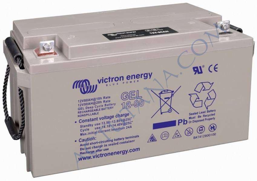 Une batterie solaire, une vraie, au gel