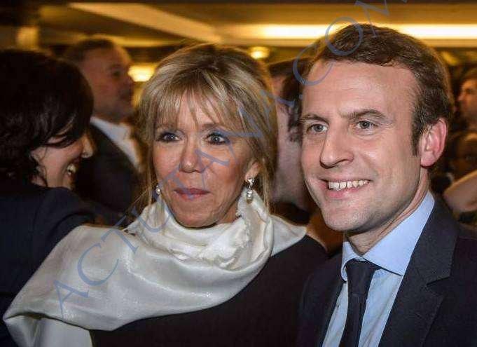 Brigitte Trogneux 64 ans, Emmanuel Macron 39 ans