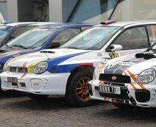 Le rallye Elf Michelin bat son plein