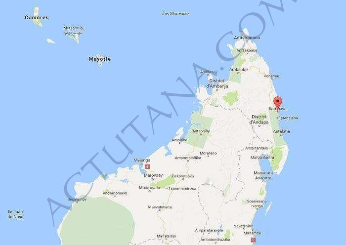 Sambava, au Nord Est