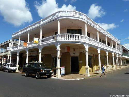 Centre ville de Diego Suarez