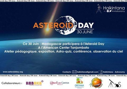 Asteroid Day au Centre Culturel Américain @ Centre Culturel Américain