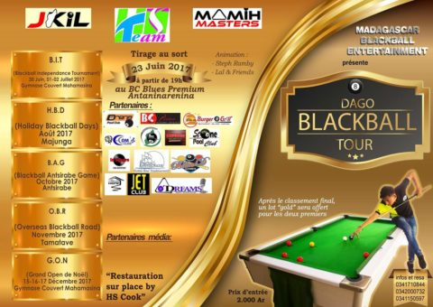 Dago Blackball Tour (billard) @ Palais des Sports Mahamasina