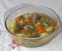 Une bonne soupe aux légumes