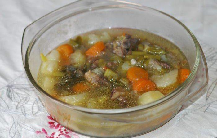 Une bonne soupe légumes