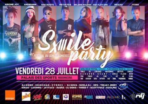 Smile Party 2017 by RDJ @ Palais des Sports Mahamasina