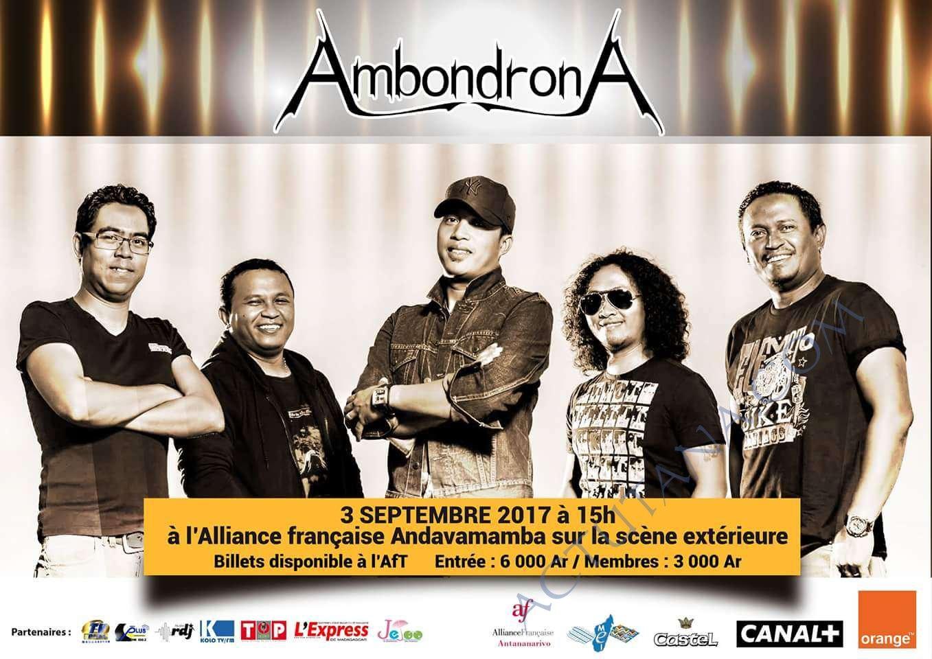 AmbondronA à l'AFT @ Alliance Française de Tananarive