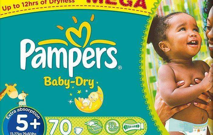 Méga pack couches Pampers : réductions maximales !