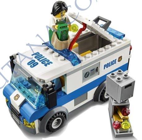 Lego city convoyeur à 8,90 au lieu de 14,90€