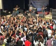Concert du groupe Ambondrona à l'AFT d'Andavamamba