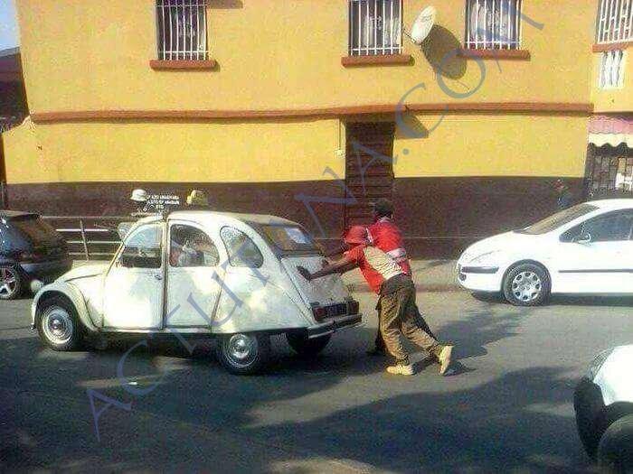 Une grève de taxis qui fait le buzz - Photo FB FEM