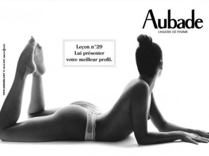 Lingerie Aubade : bons d'achats à moins 50% sur vente-privee
