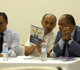 Ibis Ankorondrano  : Conférence de presse FTHM Consulting