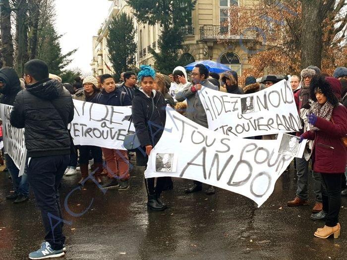 Une marche pour Andotiana
