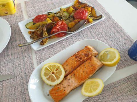 Saumon et légumes grillés : mangez aux couleurs de l'été