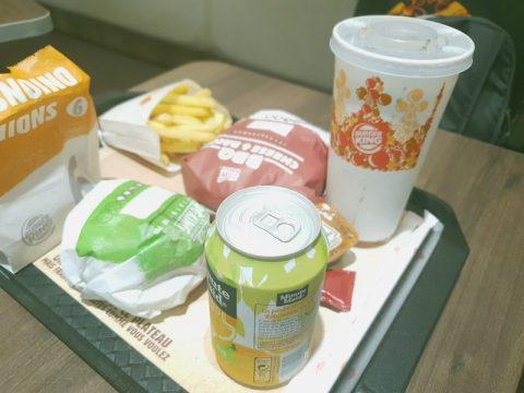 J'ai testé le Burger King