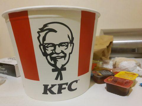 C'est ce genre de photos que j'attendais pour le KFC Mada :)
