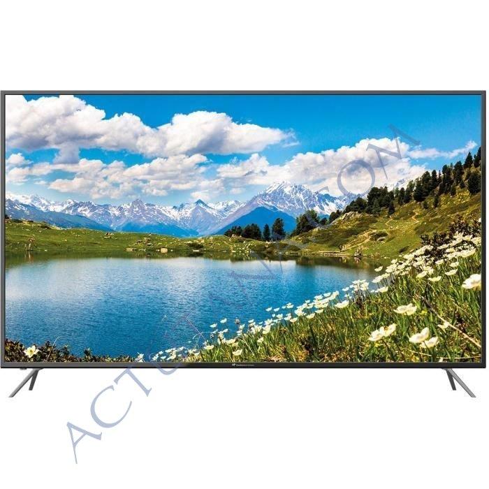 TV 65 pouces 4K Continental Edison à 399€