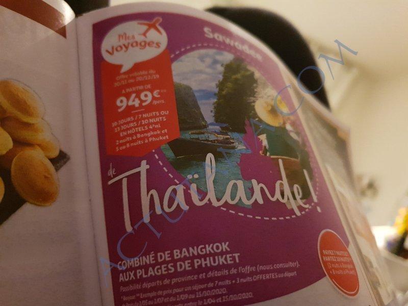 949€ pour 13 jours en Thaïlande