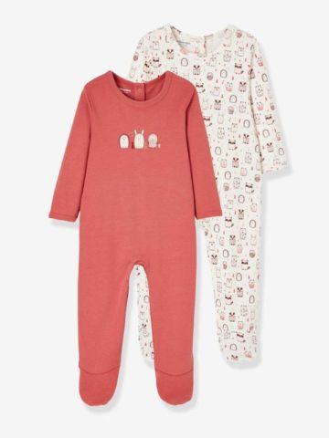 Lot de 2 pyjamas Vertbaudet à 9.99€
