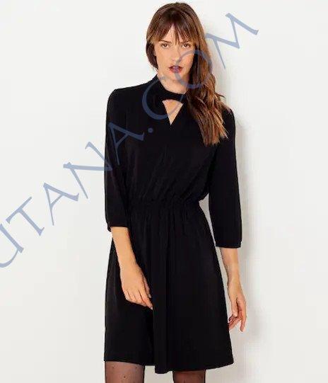 Petite robe noire à moins de 15€ chez Camaieu