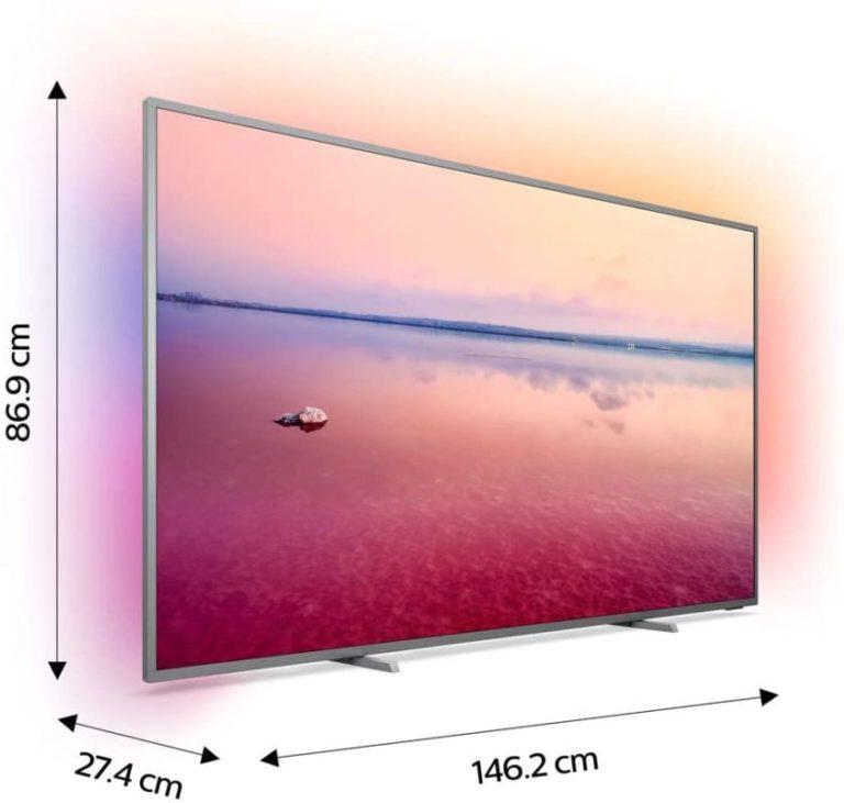 TV LED 4K 164 cm Philips 65PUS6754