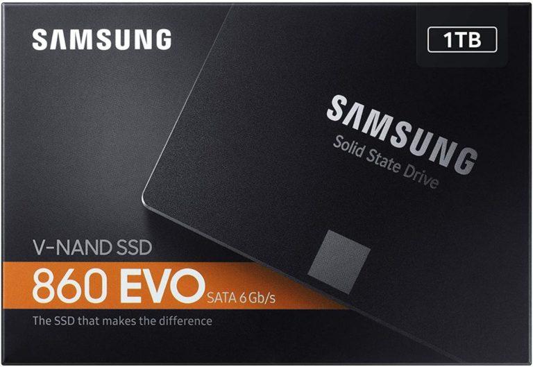Samsung SSD Interne 860 EVO 2.5